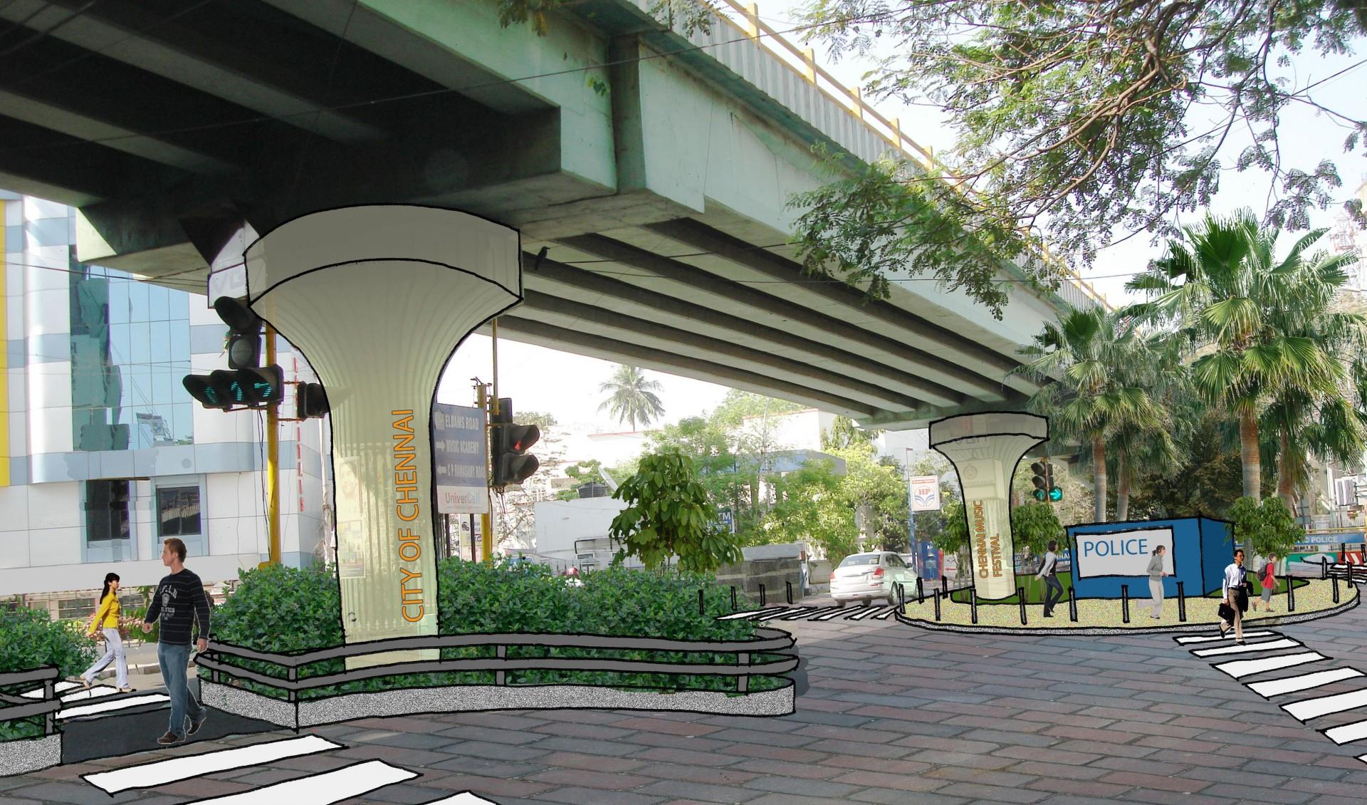 Under The Flyover on Urban Planning Portfolio