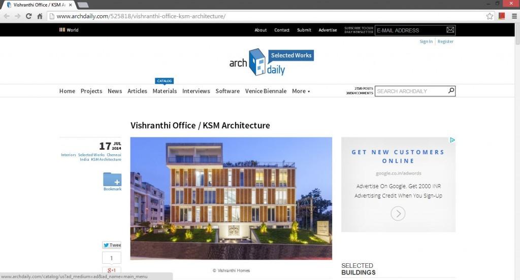 KSM Architecture-ArchDailyVishranthi_Office