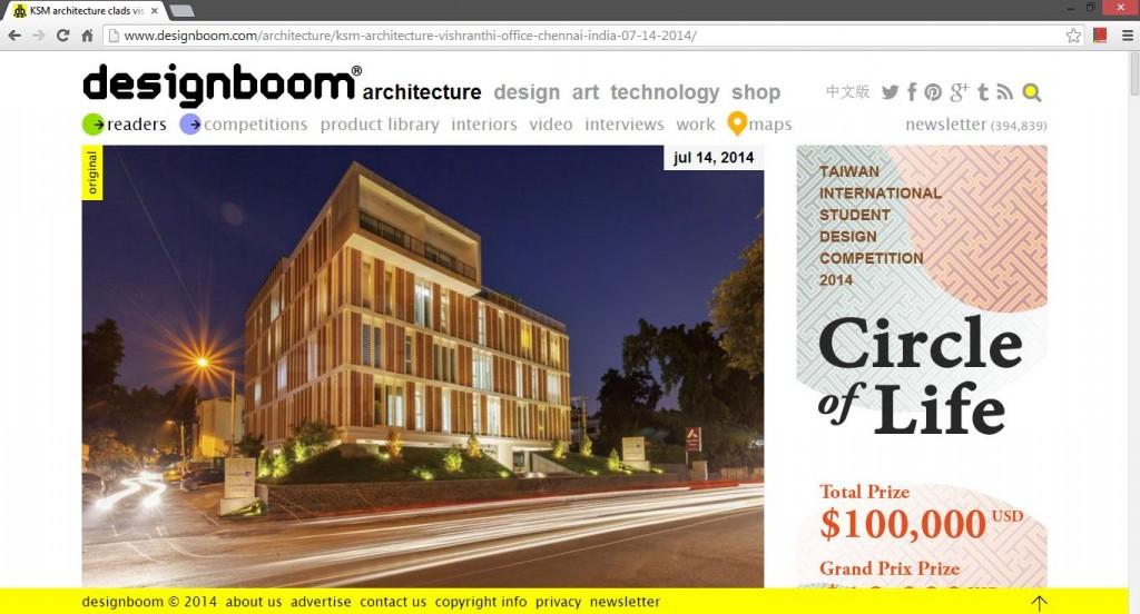 KSM Architecture-Designboom_Vishranthi_Office