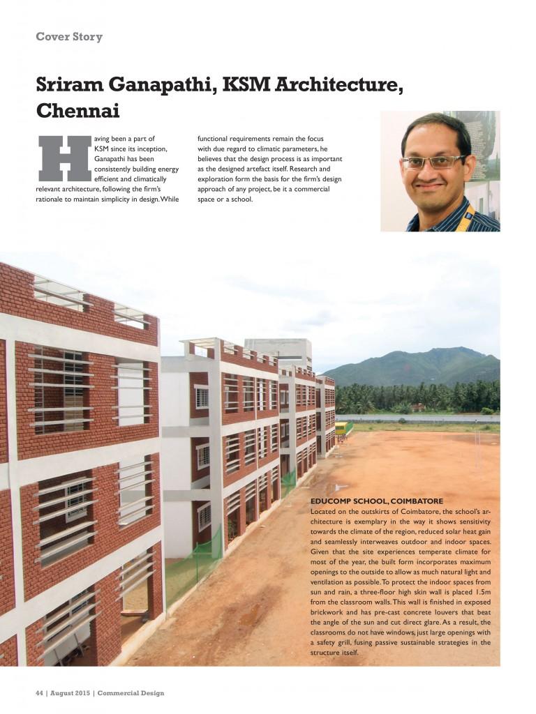 KSM Architecture - August 2015-2